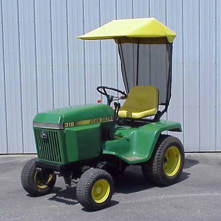 John Deere 100 Series Canopy : Canopy john deere tractor