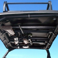 "Quick Draw Overhead Gun Rack - UTV's with 15""-23"" rollbar depth"