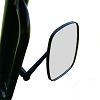 Left Side View Mirror for Gator HPX and XUV with ROPS