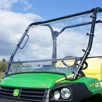 """Aero-Vent"" Lexan Windshield for the John Deere HPX & XUV Gator"
