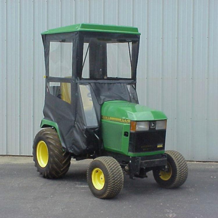 John Deere 425 Tractor Parts : Hard top cab enclosure for john deere lawn