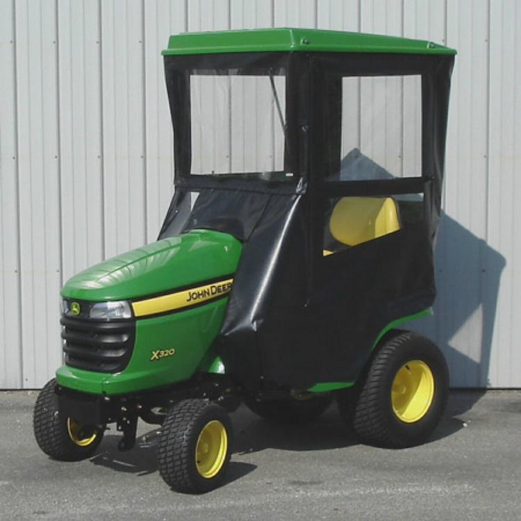 John Deere Lawn Tractor Enclosures : Hard top cab enclosure for john deere series lawn