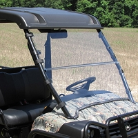 "VersaShield ""3 in 1"" Acrylic Windshield for John Deere Gator Full-Size XUV"
