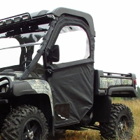 "Side Door & Rear Window for Full Size John Deere Gators with 3/4"" Tubular Steel Frame"
